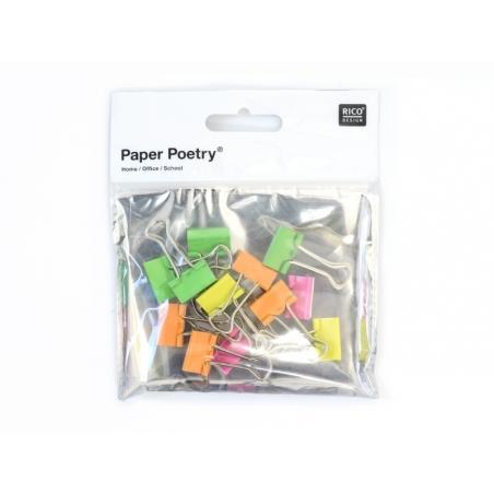 Acheter 12 pinces à dessin - couleurs fluo  - 3,75€ en ligne sur La Petite Epicerie - 100% Loisirs créatifs