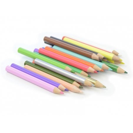 Box with 24 tiny coloured pencils Rico Design - 3