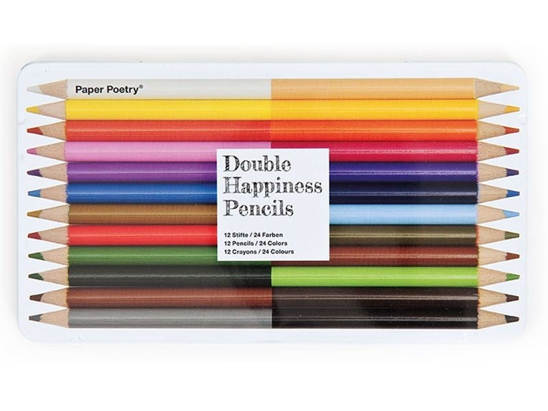 Box with 12 coloured pencils Rico Design - 1