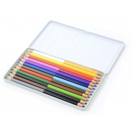 Acheter Boîte de 12 doubles crayons de couleurs - 10,15€ en ligne sur La Petite Epicerie - 100% Loisirs créatifs