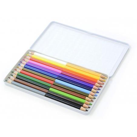 Box with 12 coloured pencils Rico Design - 2