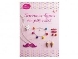 """French book """" Nouveaux bijoux en pâte Fimo"""""""