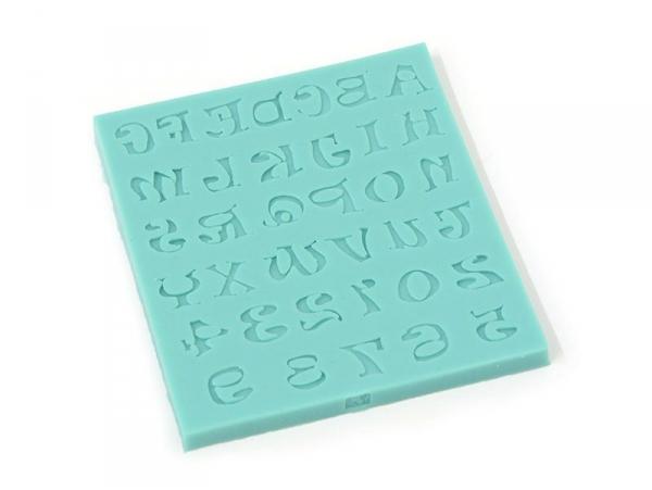 Acheter Moule alphabet et chiffres en silicone - 14,90€ en ligne sur La Petite Epicerie - 100% Loisirs créatifs