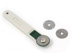 Cutter rotatif + 3 lames de rechange  - 1
