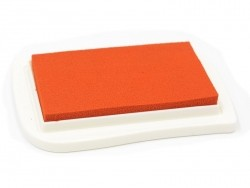 Encreur pour textile - orange