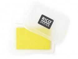 Fabric ink pad - yellow