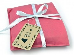 """Etiquette """"Fait avec amour"""" pour paquet cadeau - La Petite Epicerie"""