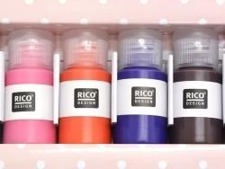 Acheter Set de 6 flacons de peintures pour tissus - couleurs trendy - 16,90€ en ligne sur La Petite Epicerie - Loisirs créatifs