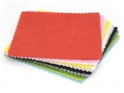Set of 12 felt squares