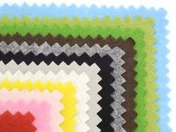 Set de 12 carrés de feutrine / feutre