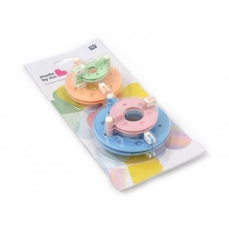 Acheter Set de 4 pompom maker - appareils à pompons - 7,99€ en ligne sur La Petite Epicerie - Loisirs créatifs