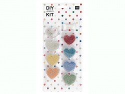 Rocaille bead set - pearly colours - DIY jewellery kit