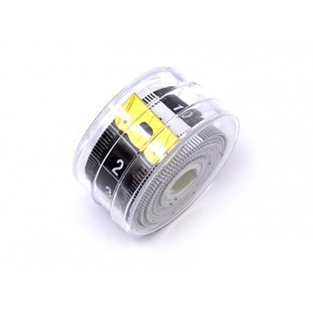 Mètre ruban 150 cm - Noir et blanc