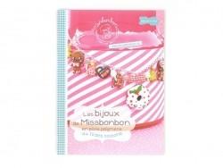 """French book """" Les bijoux de Missbonbon - au fil des saisons"""""""