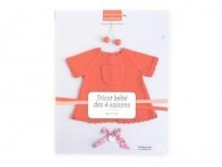 """Französisches Buch """" Tricot bébé des 4 saisons par 22 rue"""""""
