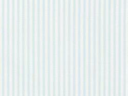 Coupon tissu à motifs -   bleu à rayures