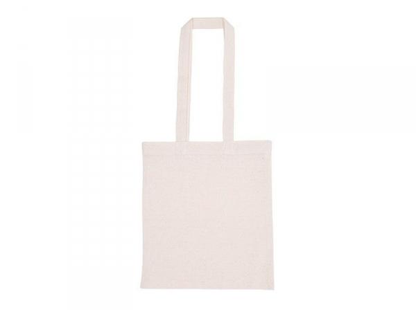 beca7a4399 Sac shopping / Tote bag en tissu - 38 x 42 cm - anses longues Rico