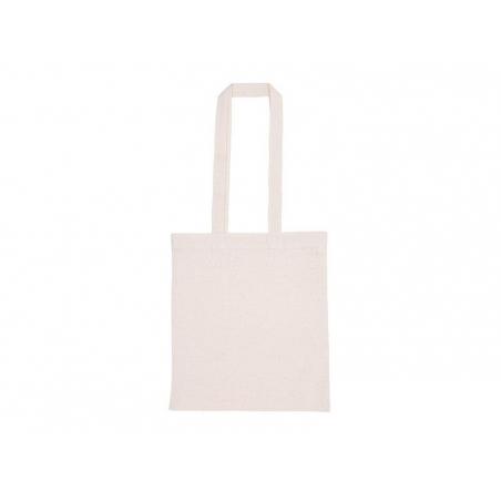Sac shopping / Tote bag en tissu - 38 x 42 cm - anses longues