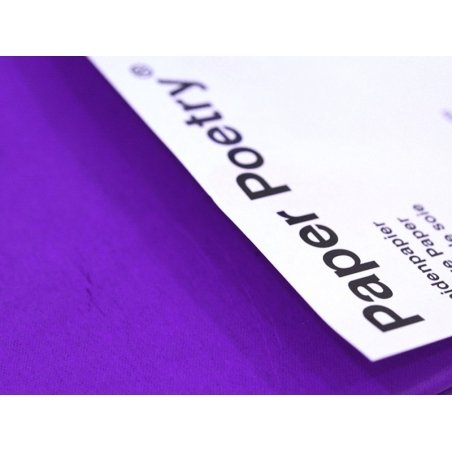 5 sheets of tissue paper - purple