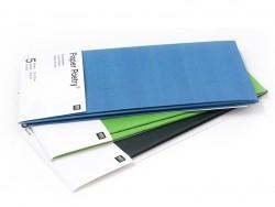 5 Bögen Seidenpapier - grün