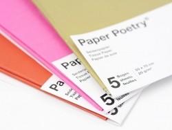 5 Bögen Seidenpapier - rosa