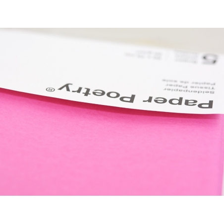 5 sheets of tissue paper - pink