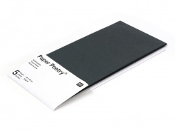 5 sheets of tissue paper - black