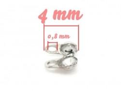 Acheter 20 cache-noeuds argenté foncé - Taille S - 2,29€ en ligne sur La Petite Epicerie - 100% Loisirs créatifs