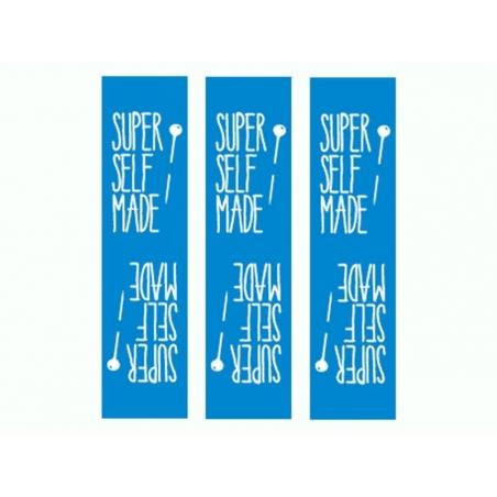 3 étiquettes tissées - SUPER SELF MADE