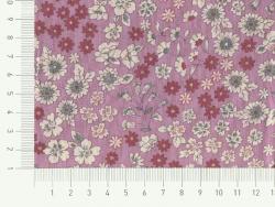 Coupon tissu fleuri 45x55cm 1 - Manon