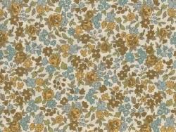 Coupon tissu fleuri 45x55cm 17 - Margot