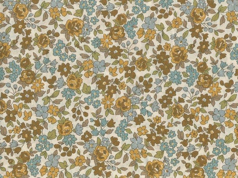Floral remnant (45 cm x 55 cm) colour no. 17 - Margot