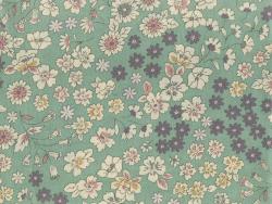 Coupon tissu fleuri 45x55cm 5 - Raphaël