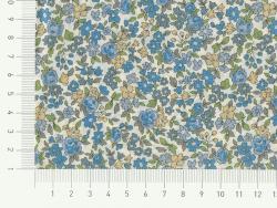 Coupon tissu fleuri 45x55cm 15 - Mathilde