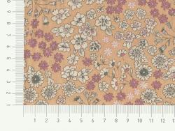 Coupon tissu fleuri 45x55cm 4 - Marie