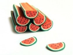 Watermelon slice cane with a large diameter