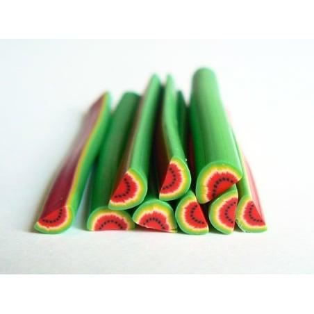 Watermelon cane - flashy watermalon slice