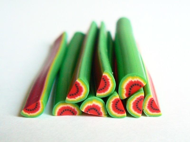 Acheter Cane demi pastèque flashy - 0,99€ en ligne sur La Petite Epicerie - 100% Loisirs créatifs