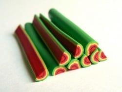 Melonencane - halbe Melone, grell