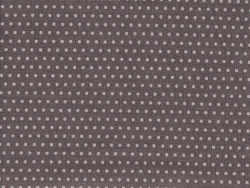 Coupon tissu à pois 45x55 cm 201 - Gris foncé