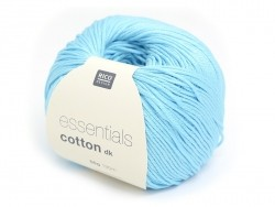 "Knitting  cotton - ""Essentials"" - aqua"