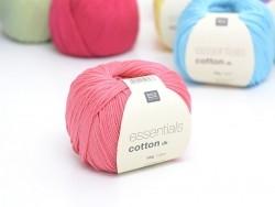 """Coton à tricoter """"Essentials"""" - rose bonbon"""