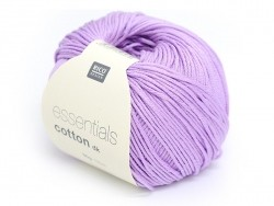 "Knitting cotton - ""Essentials"" - violet"