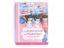 Mini livre Les bijoux kawai de Missbonbon en pâte polymère