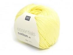 "Knitting cotton - ""Essentials"" - lemon"