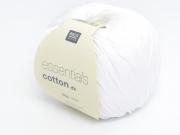 """Coton à tricoter """"Essentials"""" - blanc"""