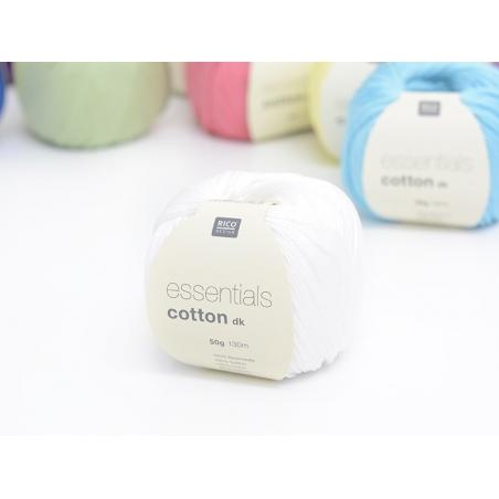 """Acheter Coton à tricoter """"Essentials"""" - blanc - 3,90€ en ligne sur La Petite Epicerie - Loisirs créatifs"""