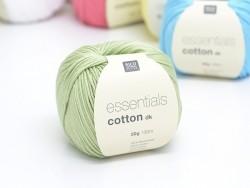 """Coton à tricoter """"Essentials"""" - foin"""