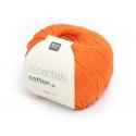 """Coton à tricoter """"Essentials"""" - citrouille"""