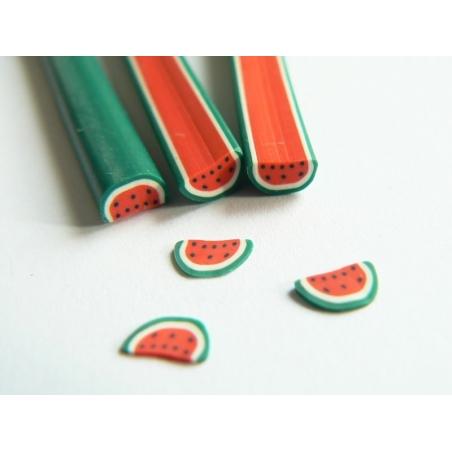 Watermelon cane - halved watermalon
